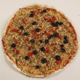 Pizza de tonyina i pebrot