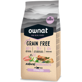 Ownat Just Grain Free Sterilized 3Kg
