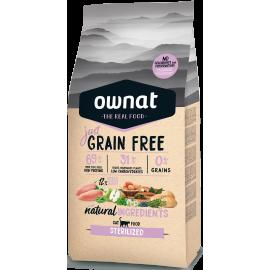 Ownat Just Grain Free Sterilized 8Kg