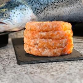 Hamburgueses variadas de peix (unitat)